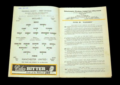 Wolverhampton Wanderers v Manchester United 11.02.1961