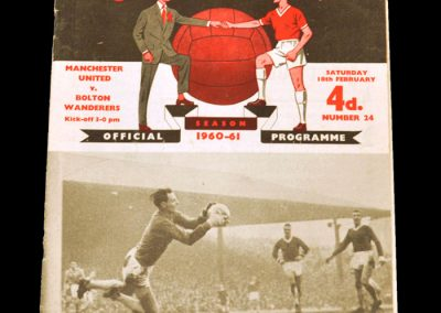 Bolton Wanderers v Manchester United 18.02.1961