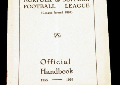 Norfolk & Suffolk Handbook 1955 - 1956
