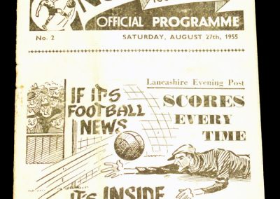 Preston North End v Newcastle 27.08.1955