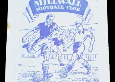 Millwall FC v Brentford 05.09.1955
