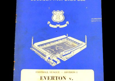 Everton v Manchester United 19.08.1967