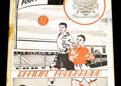 Fulham FC v Port Vale 24.09.1955