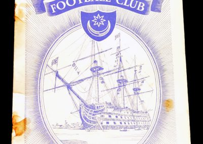 Portsmouth FC v Birmingham City 15.10.1955