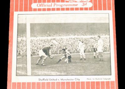Sheffield United v Blackpool 22.10.1955