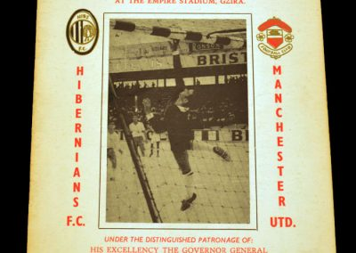 Hibernians (Malta) v Manchester United 27.09.1967 | Euro Champion Cup 1st Round 2nd Leg