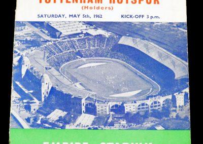 Burnley v Tottenham Hotspur 05.05.1962 | FA Cup Final