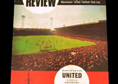 Coventry City v Manchester United 25.10.1967