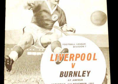 Liverpool v Burnley 03.11.1962