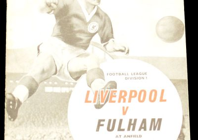 Liverpool v Fulham 01.12.1962
