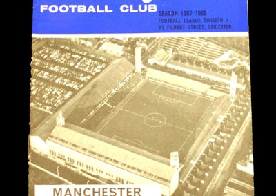 Leicester City v Manchester United 23.12.1967
