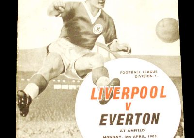 Liverpool v Everton 08.04.1963