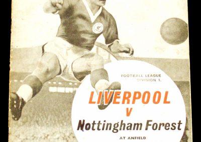 Liverpool v Nottingham Forest 18.04.1963