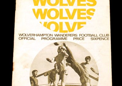 Wolverhampton Wanderers v Manchester United 30.12.1967