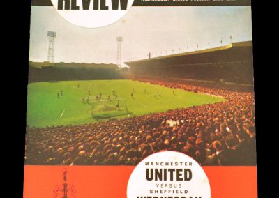 Sheffield Wednesday v Manchester United 20.01.1968