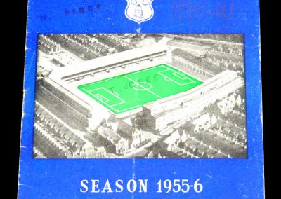 Everton v Bristol City 07.01.1956