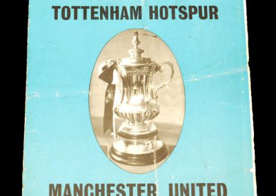 Tottenham Hotspur v Manchester United 31.01.1968 | FA Cup 3rd Round Replay