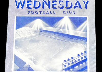 Sheffield Wednesday FC v San Lorenzo 26.01.1956