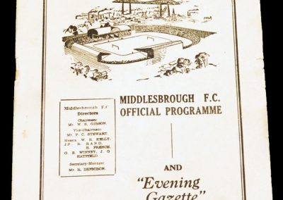 Bristol City v Middlesbrough FC 11.02.1956