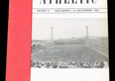 Charlton Athletic v Middlesbrough 01.12.1962