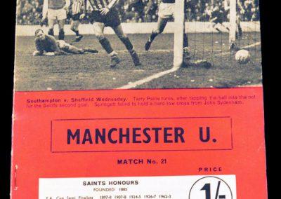 Southampton v Manchester United 13.04.1968