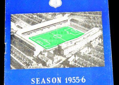 Everton v Sunderland 10.03.1956