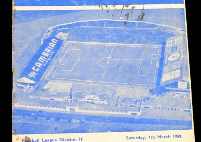Cardiff City v Swansea Town 07.03.1959