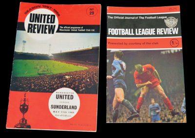 Sunderland v Manchester United 11.05.1968