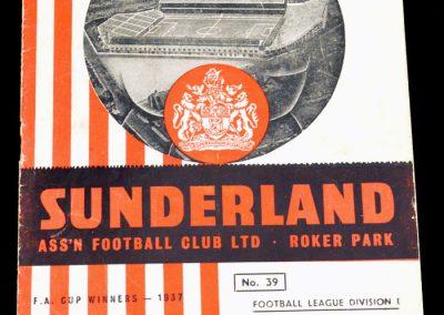 Sunderland v Preston N.E. 21.03.1956