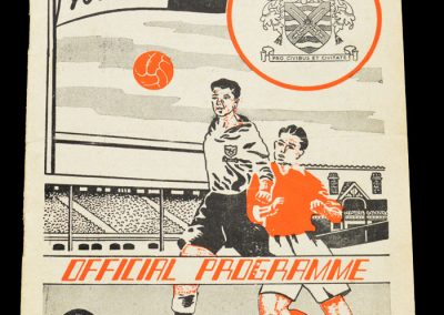 Fulham v Sheffield United 01.11.1958