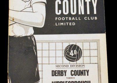 Derby County v Middlesbrough 15.04.1963
