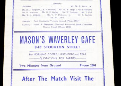 Hartlepool United v Gateshead 02.04.1956