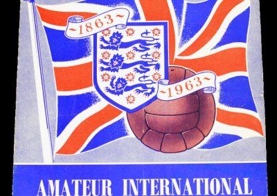 Amateur International Tournament 13-22.05.1963