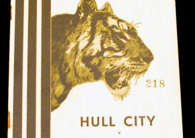 Hull City v Blackburn Rovers 02.04.1956