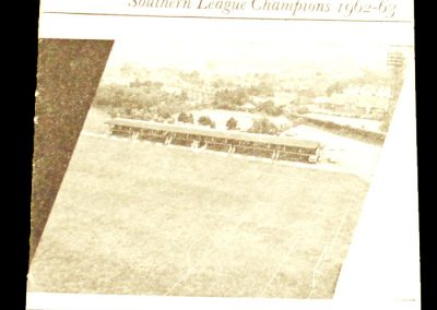 Cambridge City v Wisbech 18.09.1965