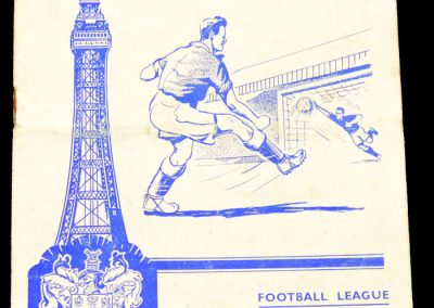 Blackpool v Leeds United 24.08.1957