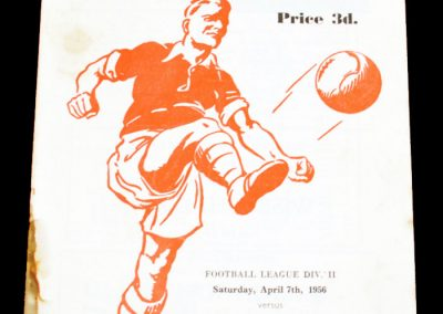 Rotherham United v Hull City 07.04.1956