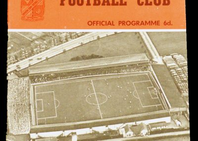 Swindon v Darlington 25.09.1962 | Football League Cup 2nd round