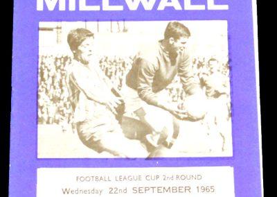 Millwall v York City 22.09.1965