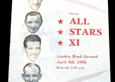 Peterborough United v All Stars 09.04.1956