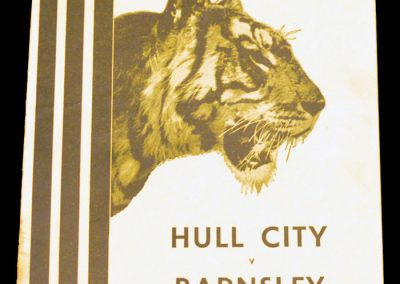 Hull City v Barnsley 14.04.1956