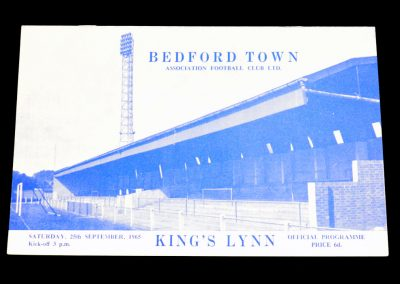Bedford Town v Kings Lynn 25.09.1965