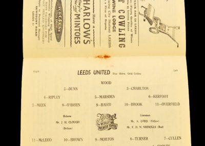 Luton Town v Leeds United 11.09.1957