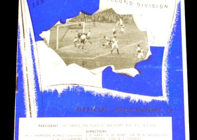 Bristol Rovers v Notts Co 14.04.1956