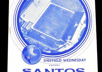 Sheffield Wednesday v Santos 22.10.1962