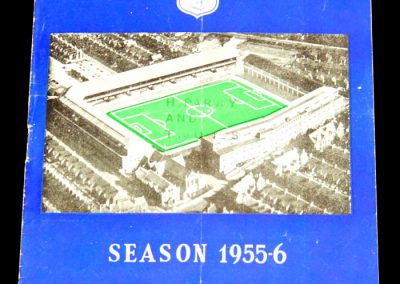Everton v Blackpool 21.04.1956