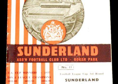 Sunderland v Aston Villa 13.10.1965