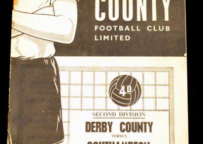 Derby County v Southampton 10.11.1962