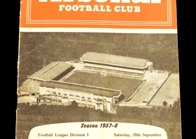 Arsenal v Leeds United 28.09.1957