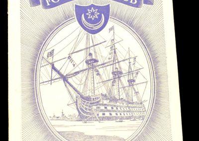 Portsmouth FC v Leeds United 12.10.1957